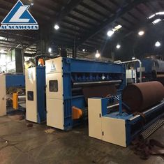 Jarum Nonwoven Meninju Lini Produksi Wool Felt / Carpet Insulation Making