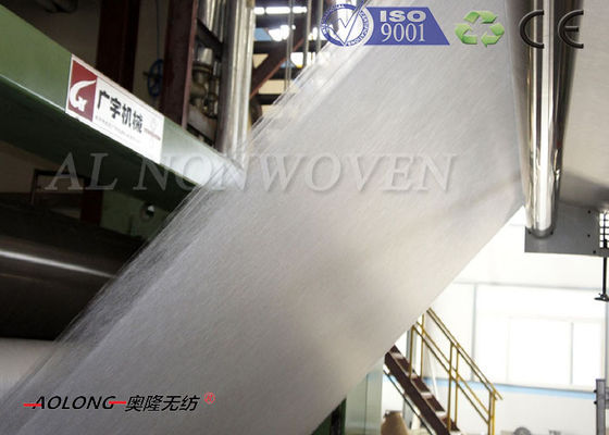 High Speed ​​300m / min SSS PP Kain Non Woven Membuat Mesin Lebar 3200mm