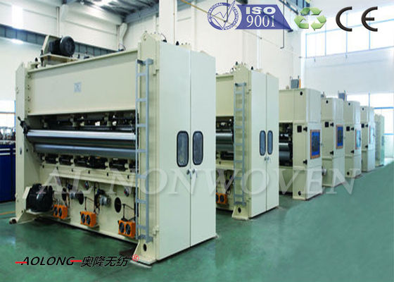 High Speed ​​Nonwoven Pcuhing Needle Loom Machine 300 ~ 1000g / m ^ 2 CE / ISO9001