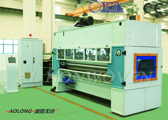 Jute Fiber NonWoven Needle Punching Machine 4800mm Dengan ISO9001