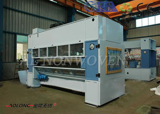 Custom Made Polyester Fiber Needle Punching Machine Untuk Filter Udara